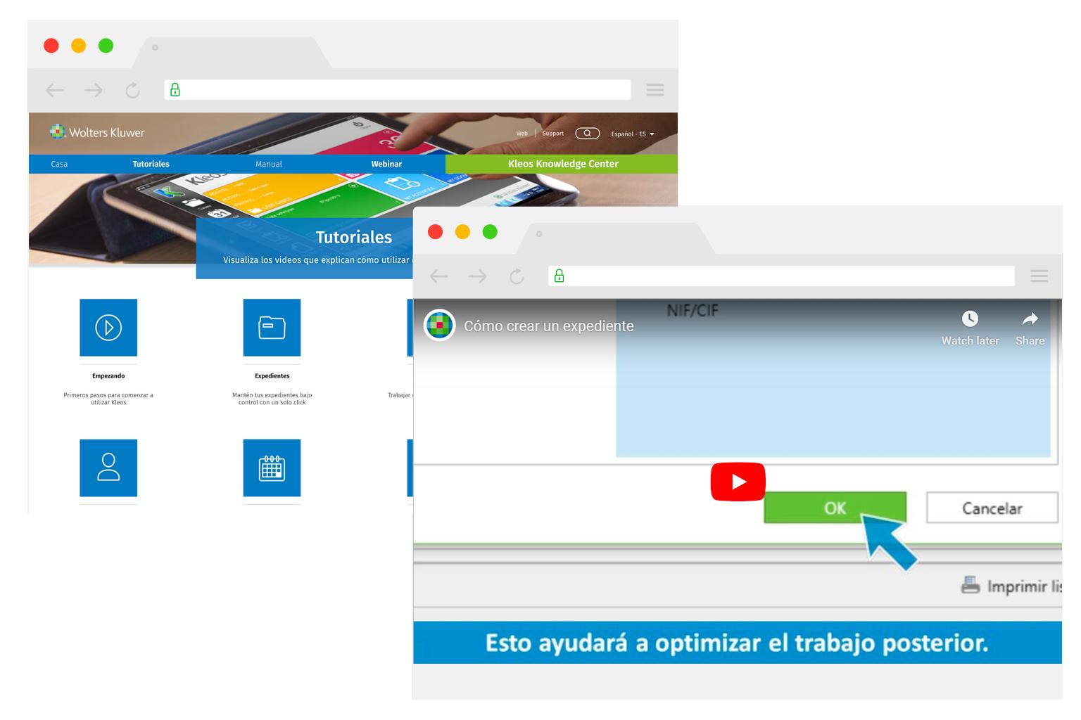 Kleos Support Learning ES | software para abogados