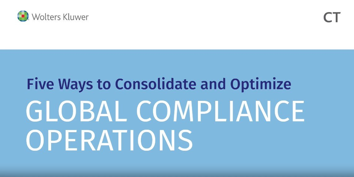 5 ways consolidating multi-jurisdictional entity obligations optimizes global compliance operations