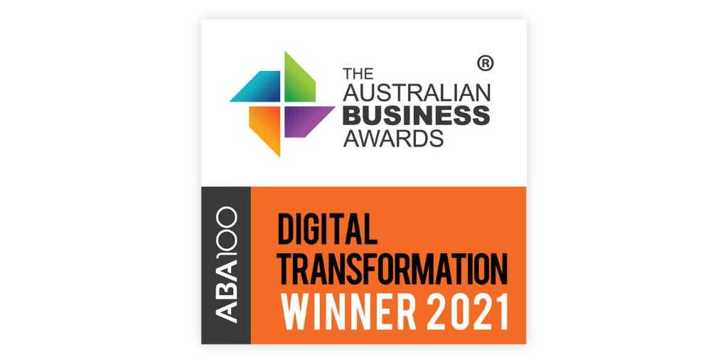 ABA Award 2021 Digital Transformation 2021