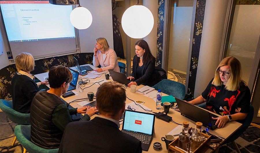 Ekonomichefer inom Bengt Dahlgren-koncernen