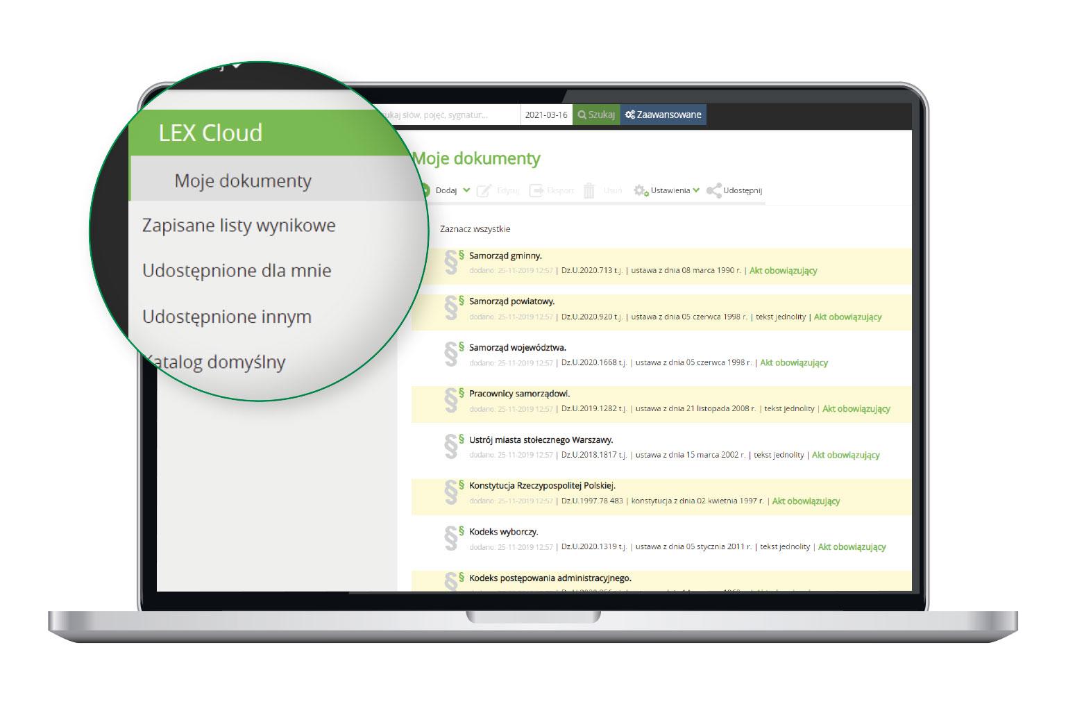 LEX Cloud w LEX Administracja