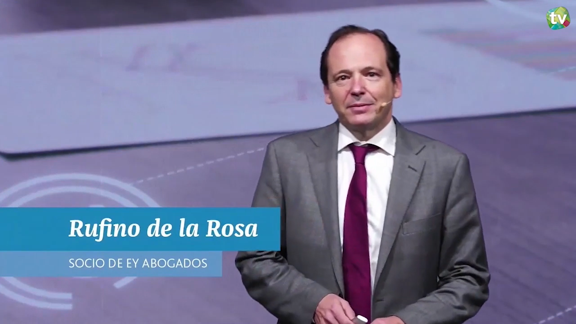 Rufino de la Rosa, Socio de EY Abogados
