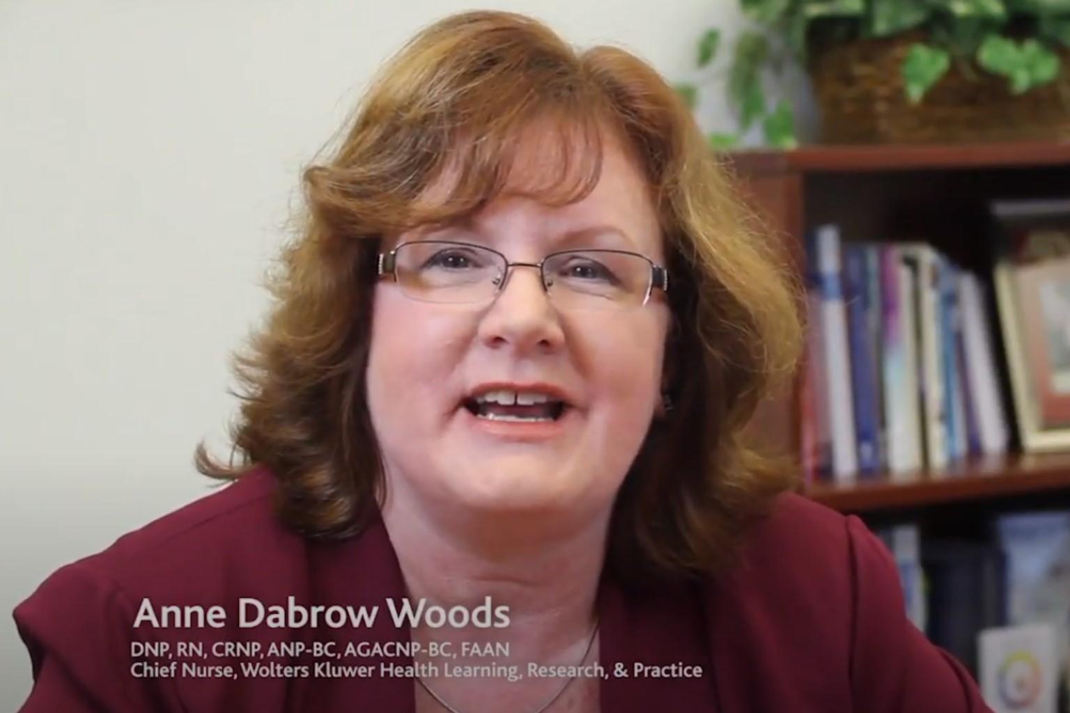 Anne Woods, Wolters Kluwer Chief Nurse on Lippincott Advisor