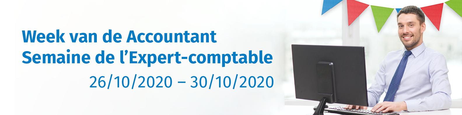 Devenez le bureau comptable le plus intelligent de Belgique durant la Semaine de l'Expert-comptable