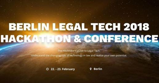 Wolters Kluwer ist Hauptpartner des Global Legal Hackathon in Berlin