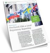 EBA and local Regulatory Reporting Solution Primer