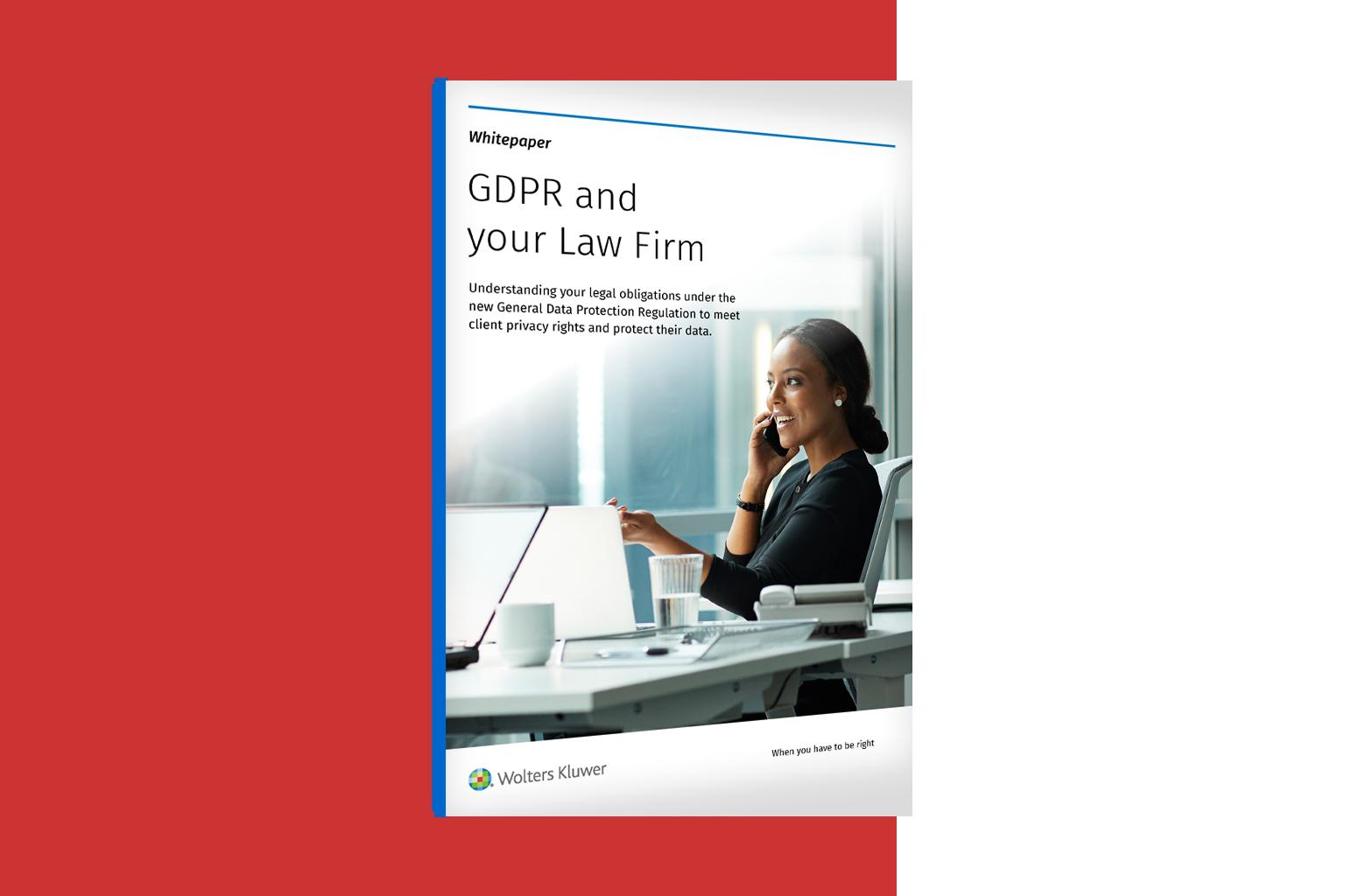 GDPR a vaše právnická firma
