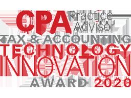 2020 CPA Practice Advisor Tax & Accounting Technology Innovation Award