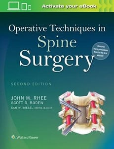 Operative Techniques in Spine Surgery book cover