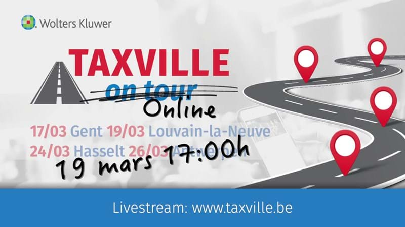 Wolters Kluwer België vormt Taxville On Tour om tot Taxville Online