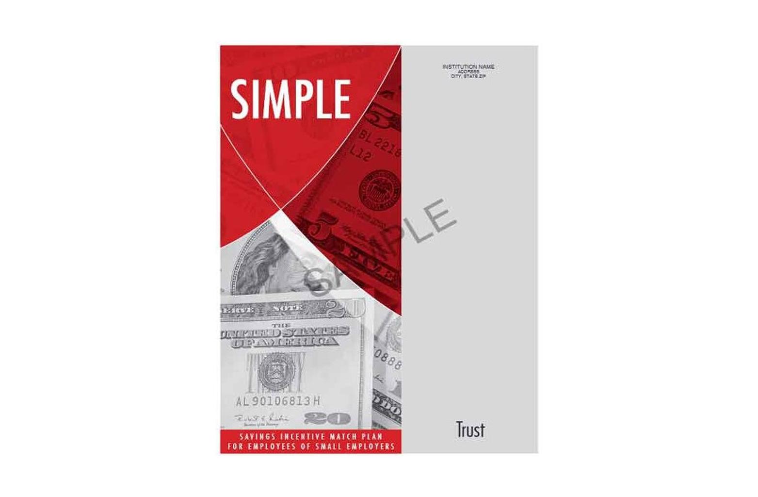 SIMPLE IRA organiser - trust sample