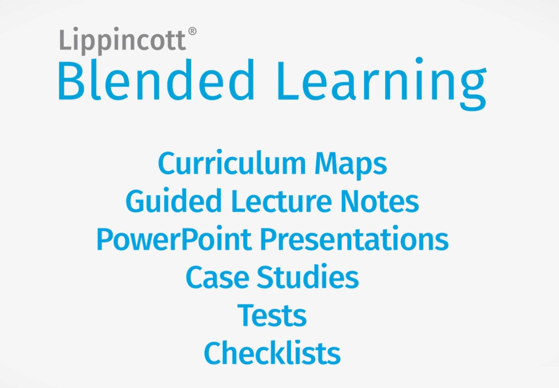 Lippincott Blended Learning video