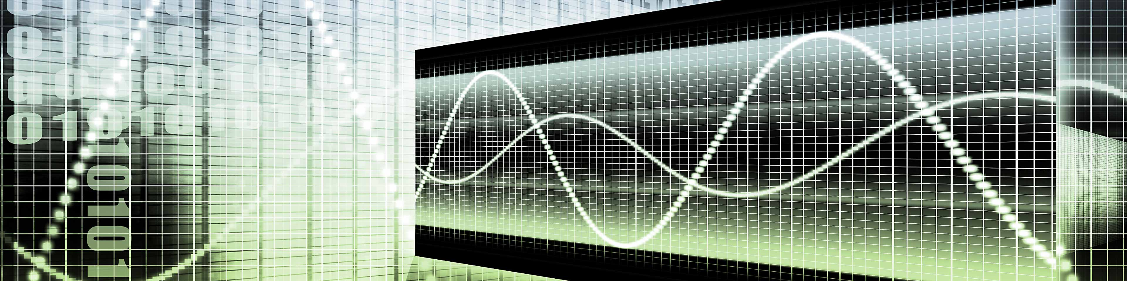 abstract digital graph