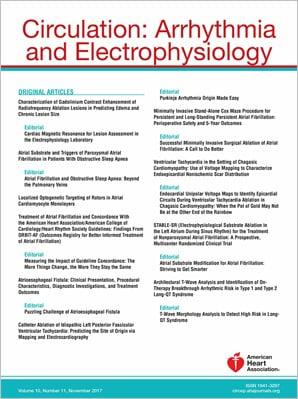 Circulation: Arrhythmia and Electrophysiology