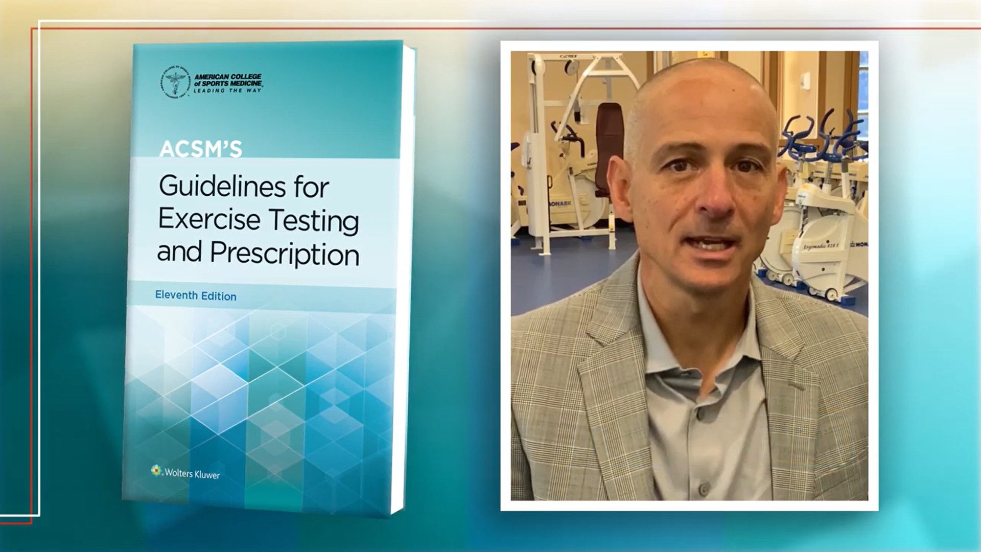 Screenshot of Preexercise Evaluation- ACSM's Guidelines for Exercise Testing and Prescription, 11th Edition video