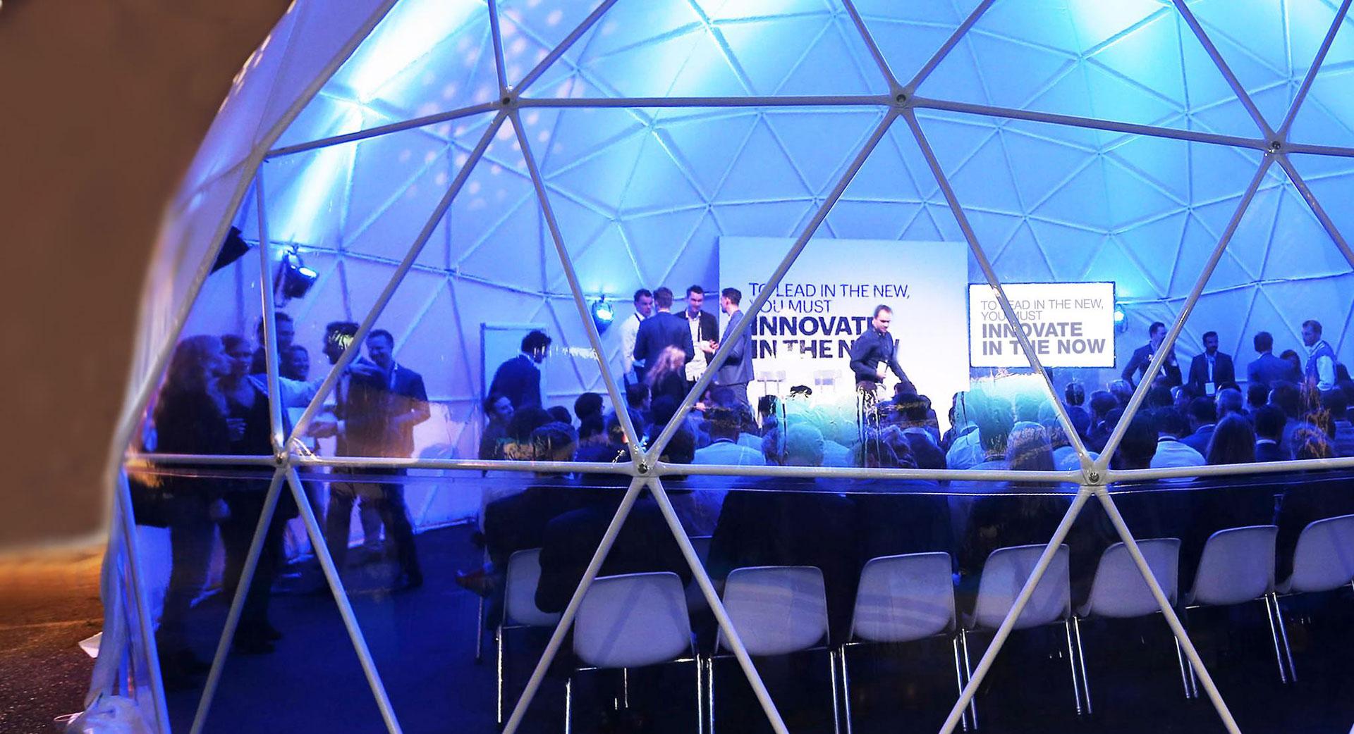 Innovation Bubble at 2017 Accenture Innovation Summit