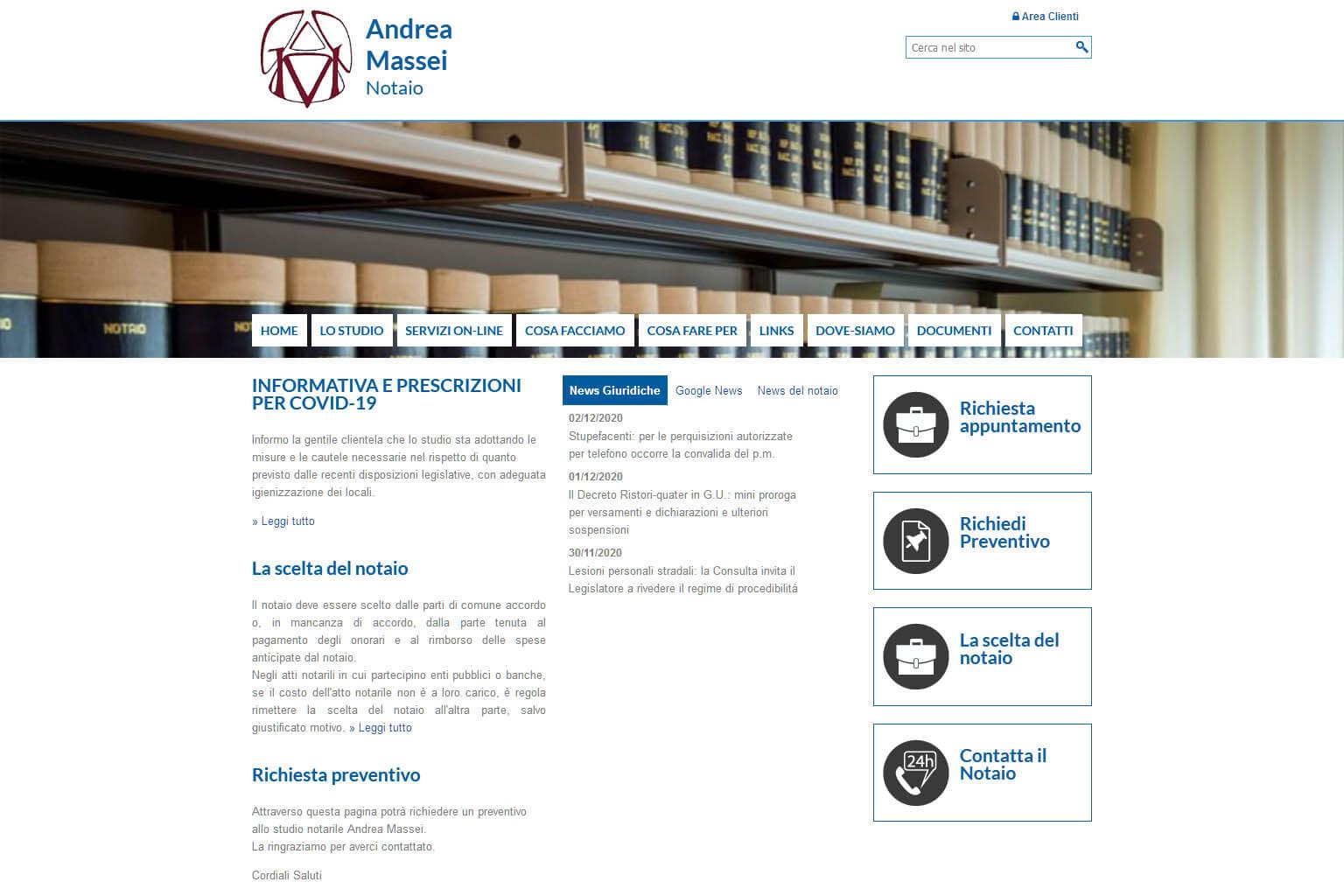 NotaioMyWeb | Notaio Andrea Massei
