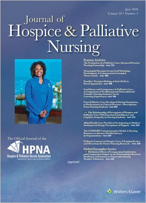 Journal of Hospice & Palliative Nursing