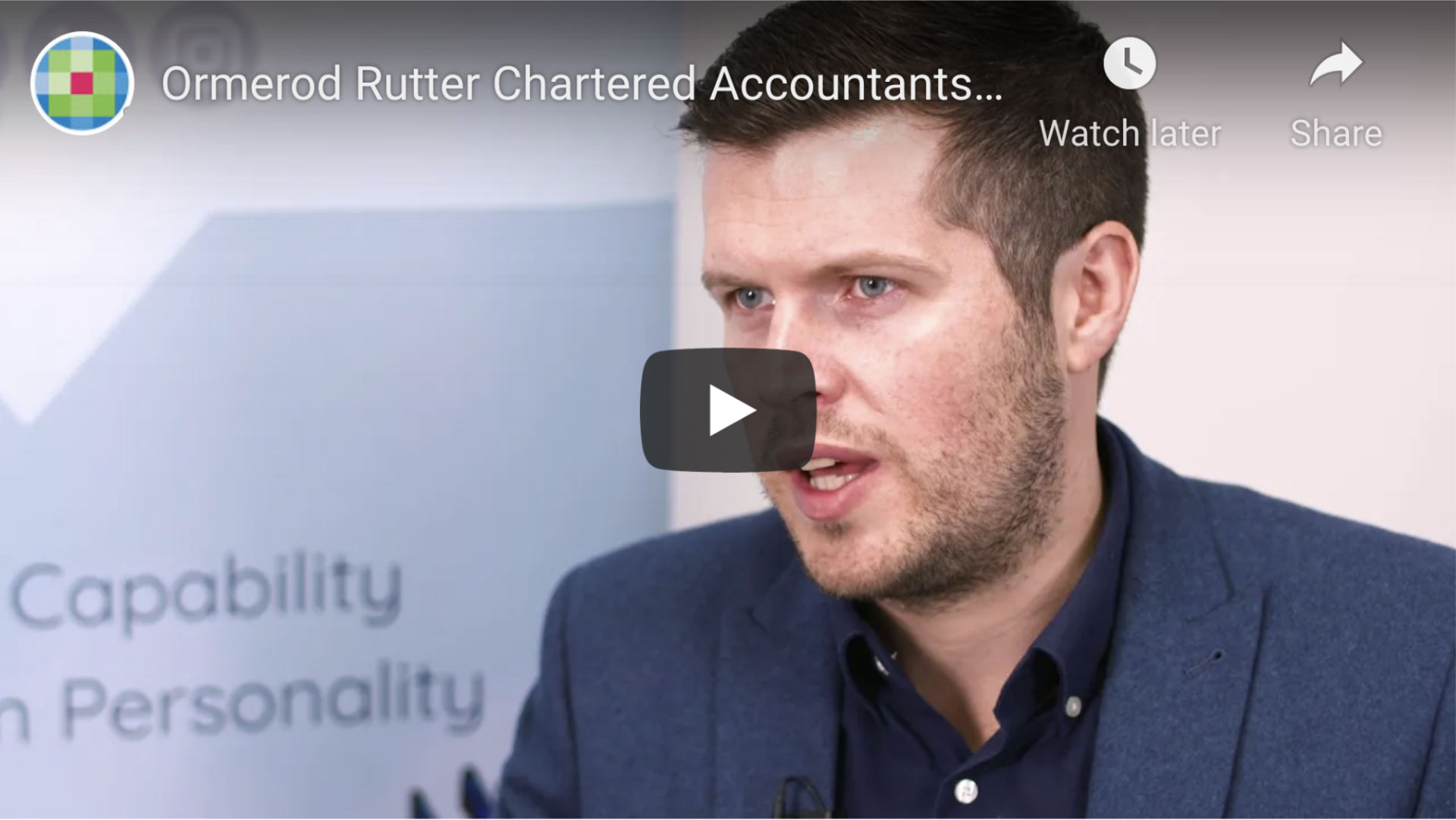 Ormerod Rutter Video Case Study