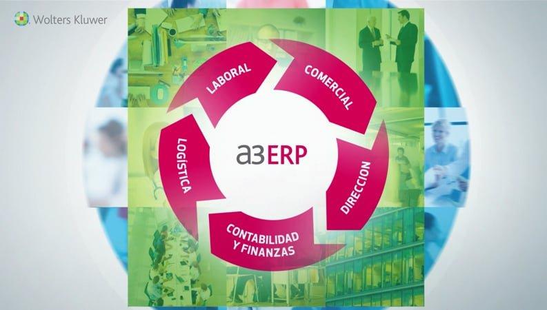 a3ERP un software único