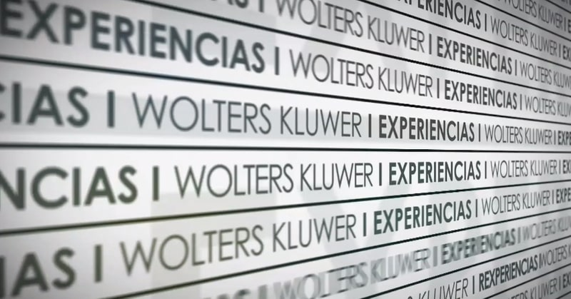 Wolters Kluwer experiencias