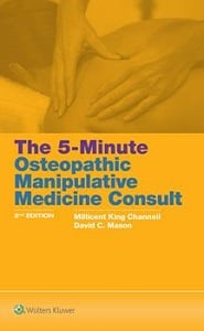 The 5-Minute Osteopathic Manipulative Medicine Consult book cover