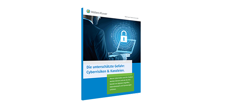 Die unterschätzte Gefahr - Cyberrisiken & Kanzleien.