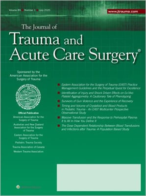 The Journal of Trauma and Acute Care Surgery