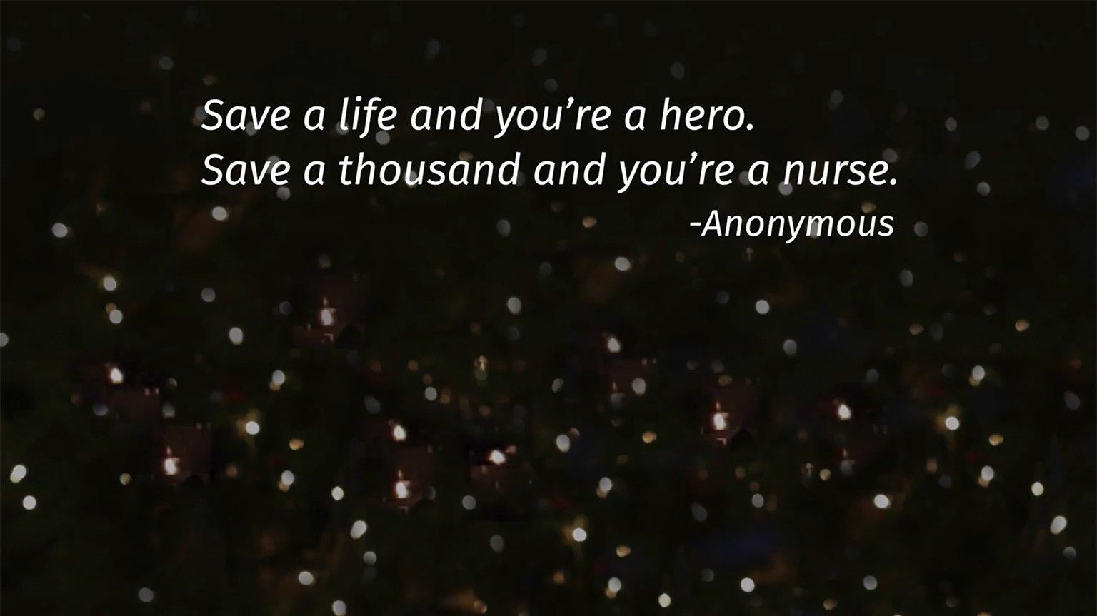 Screenshot from Lippincott Nursing Education sizzle video