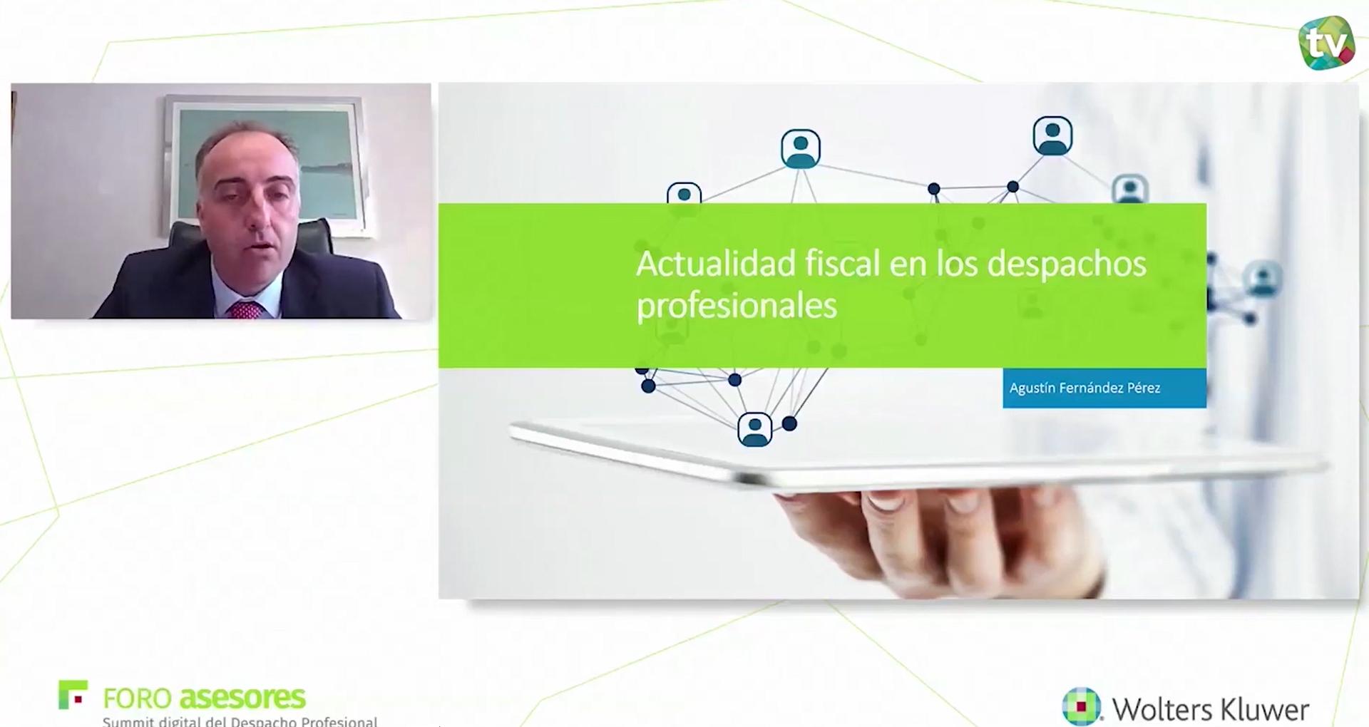 Agustín Fernández, Presidente del Registro de Economistas Asesores Fiscales (REAF)