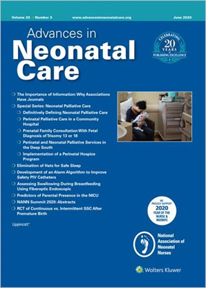 Advances in Neonatal Care