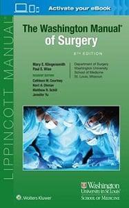 The Washington Manual of Surgery book cover