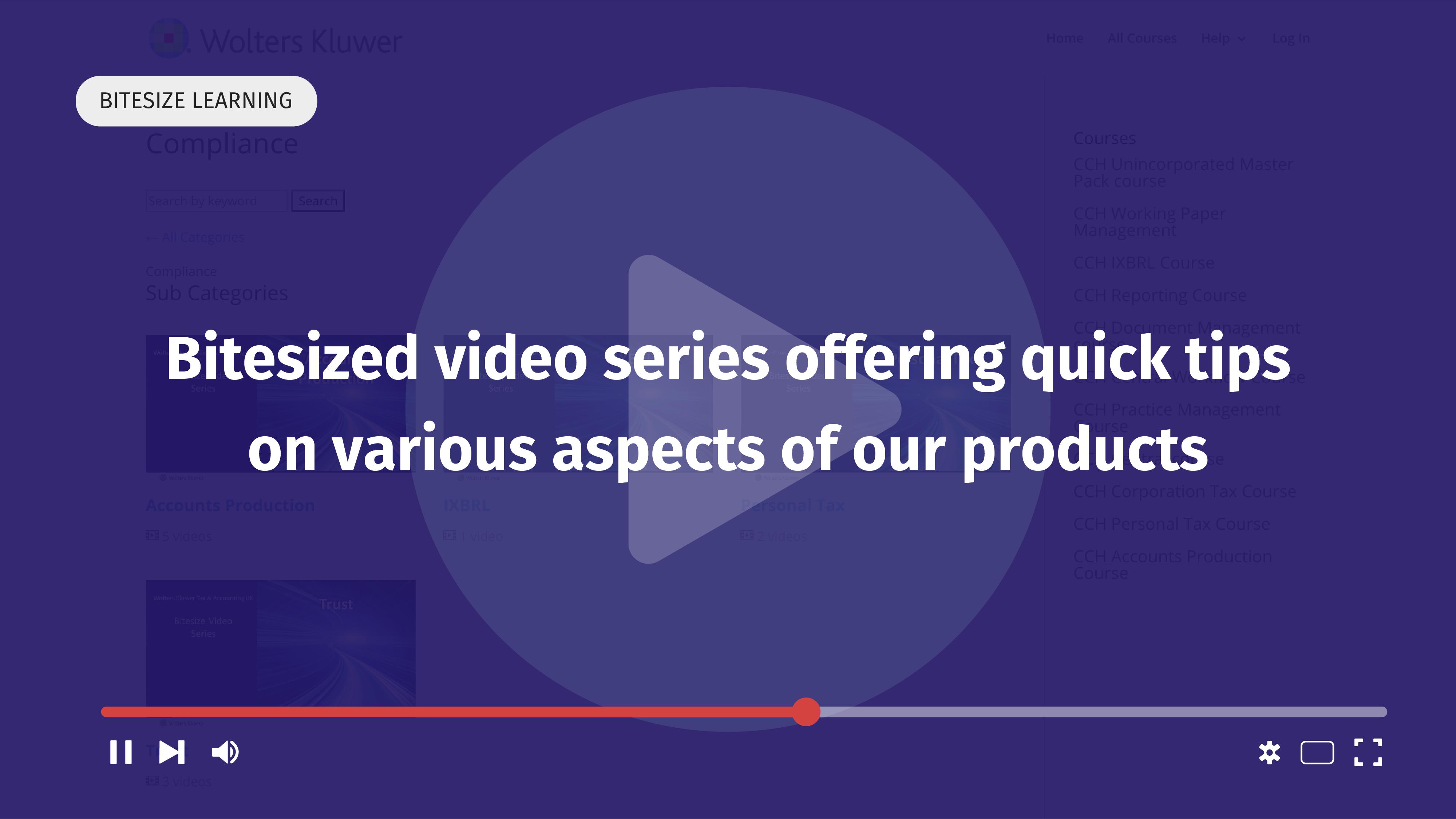 Bitesize video elearning quick tips