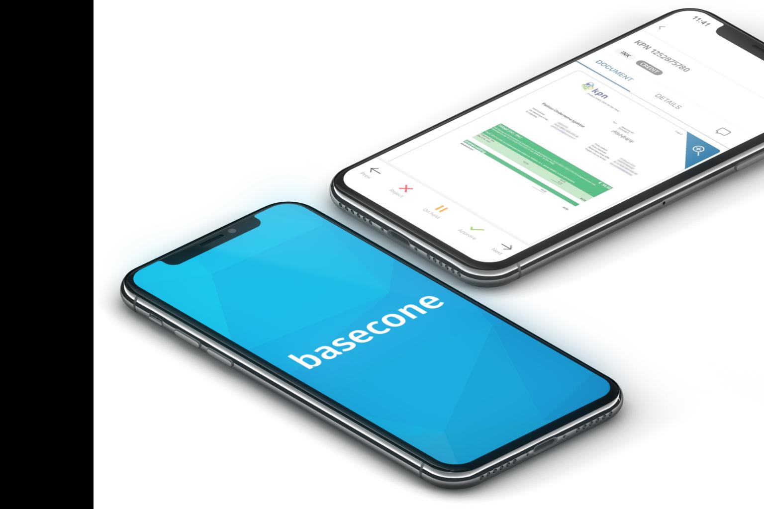 De bonnetjes app van Basecone
