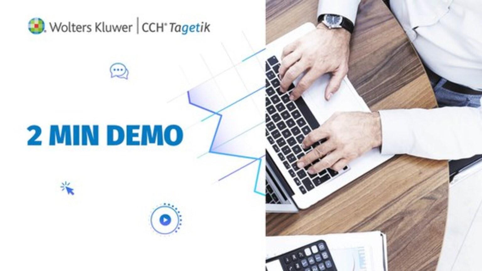 2 Min Demo - AUM Planning in CCH Tagetik