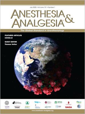 Anesthesia & Analgesia
