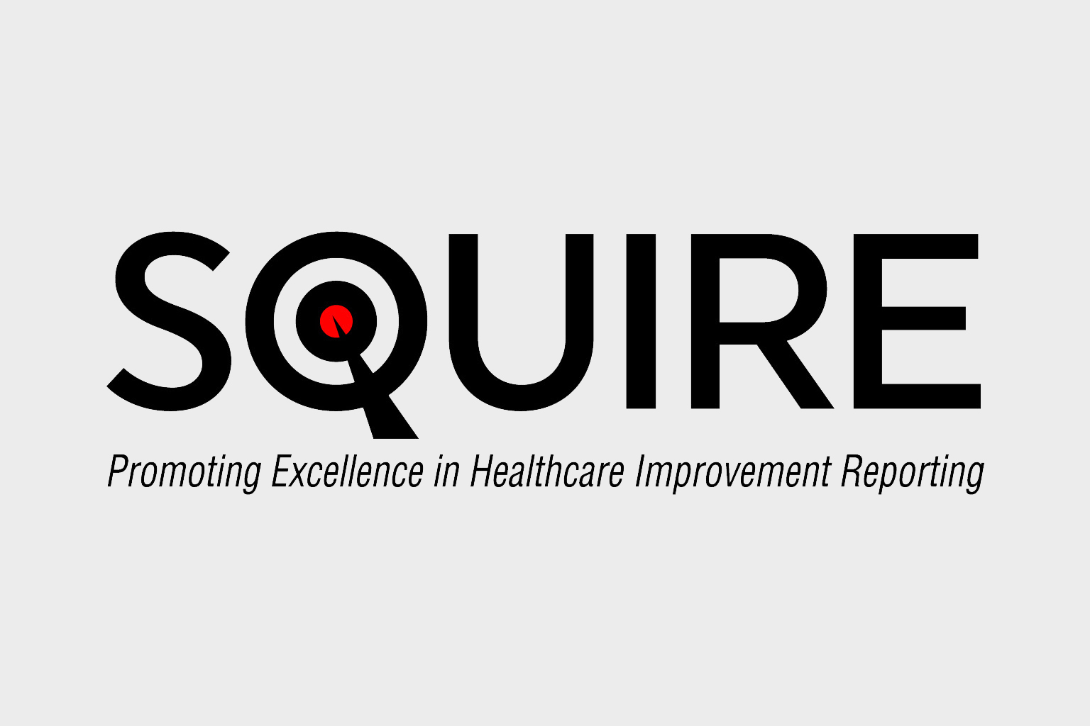 Squire, promoting excellence in healthcare improvement reporting logo