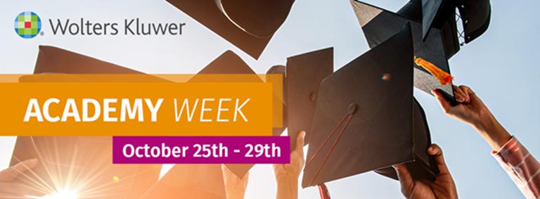Academy Week banner