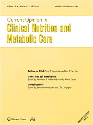 Current Opinion in Clinical Nutrition and Metabolic Care