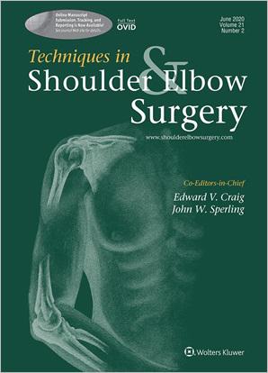 Techniques in Shoulder & Elbow Surgery