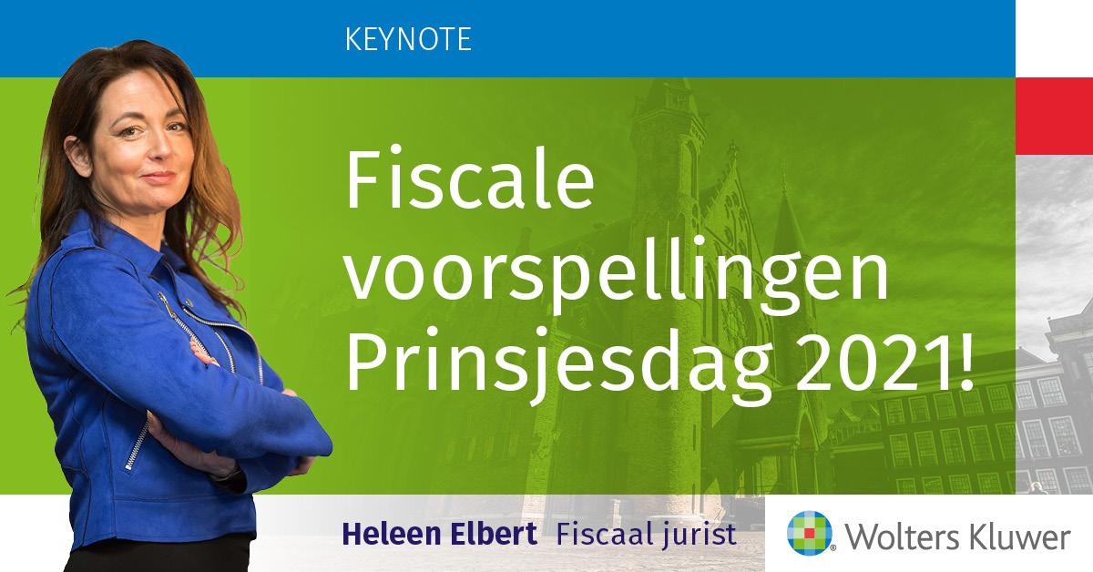 Heleen Elbert voorspelling Prinsjesdag 2021