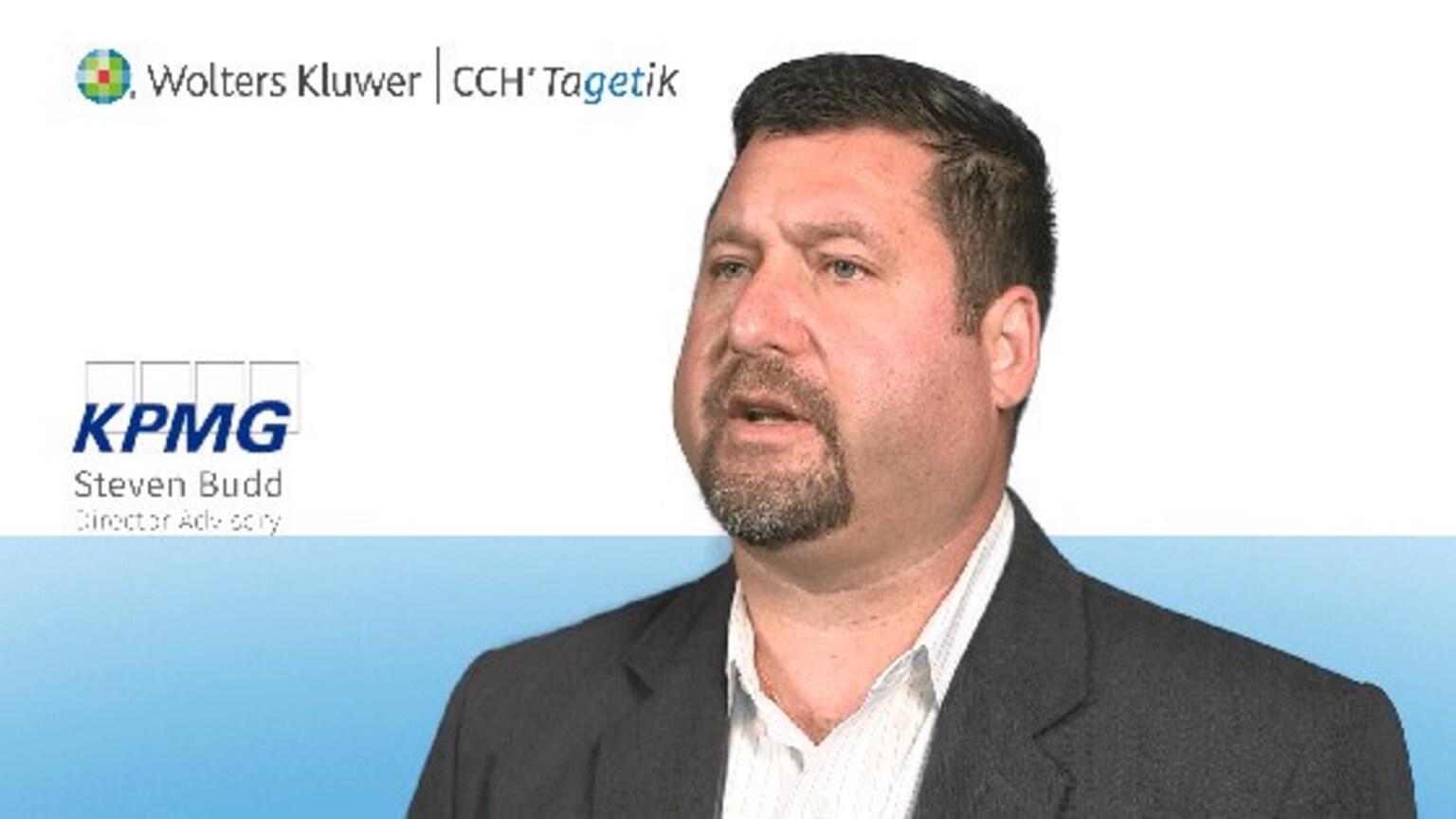 Partner KPMG Steven Budd video