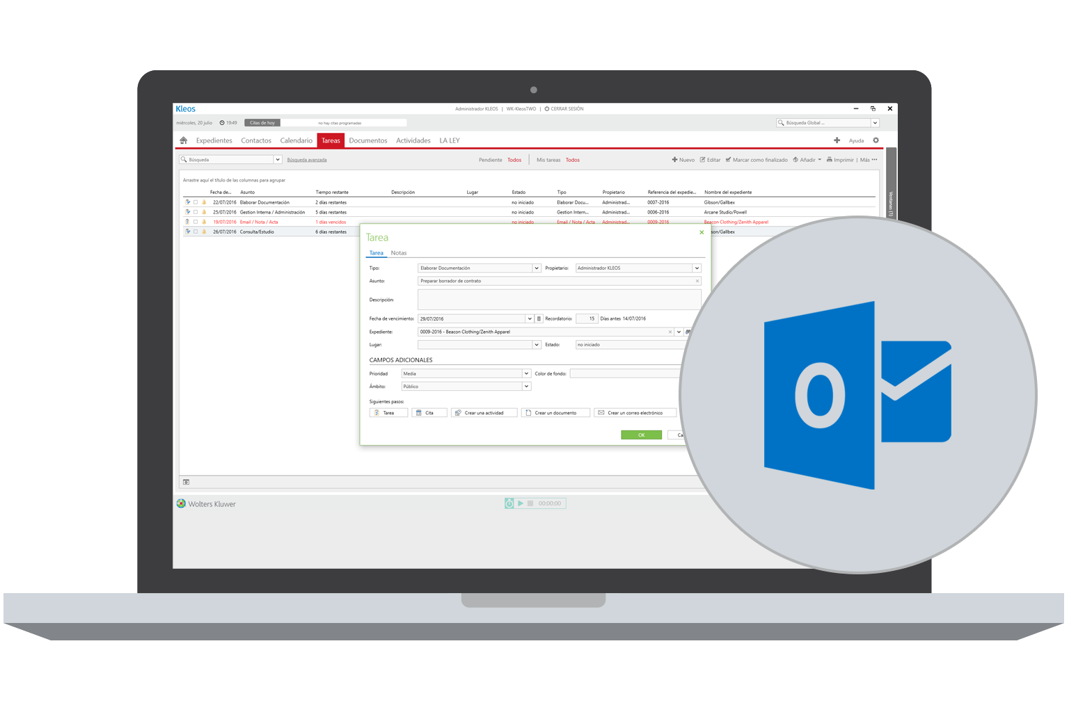 Kleos Case Management ES | software para la gestion de expedientes