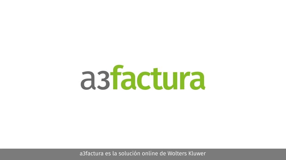 Vídeo comercial a3factura pyme