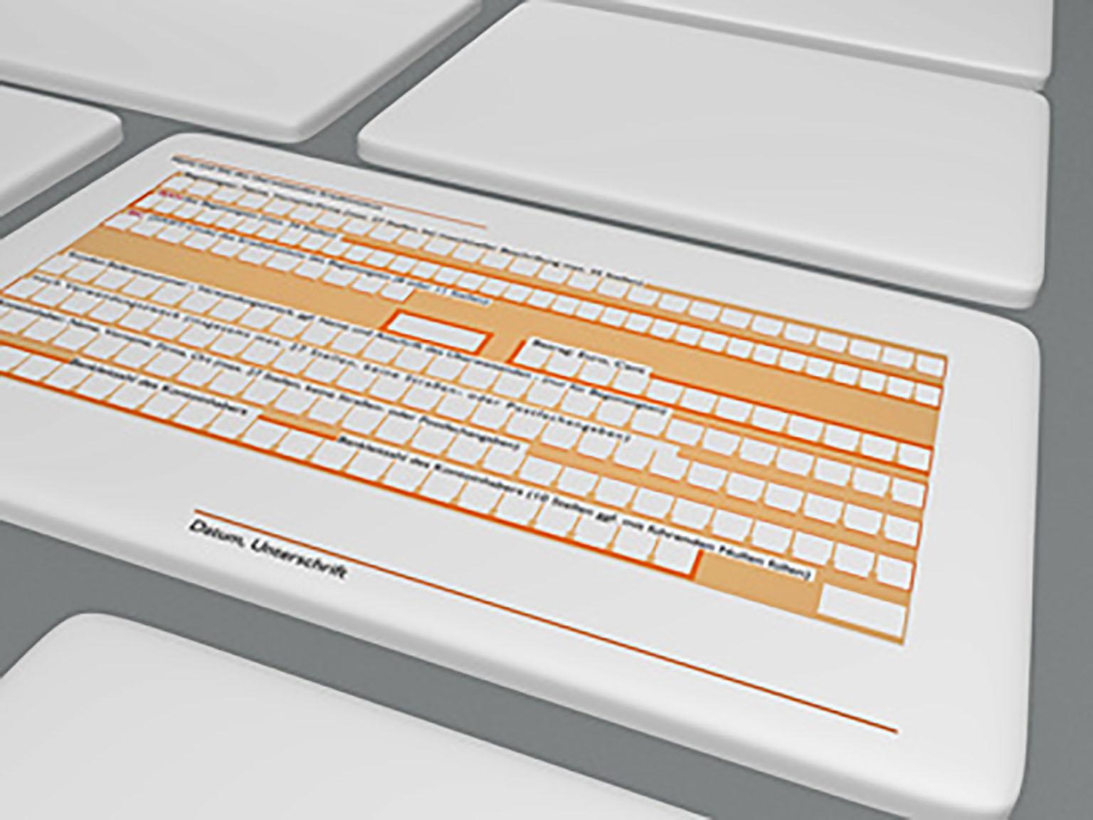 laptop keyboard illustration