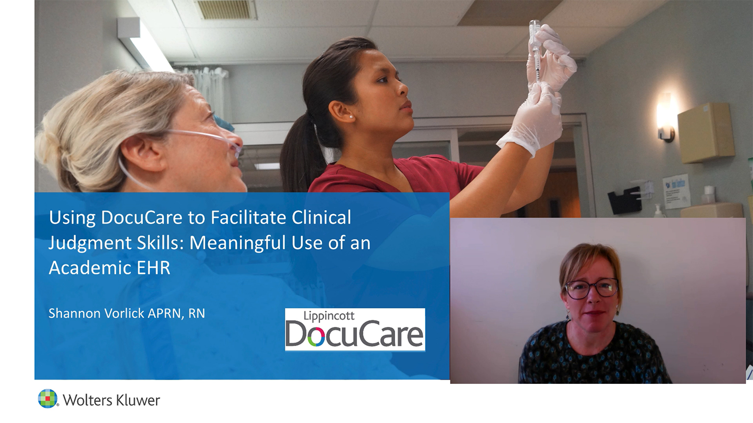 Using DocuCare to facilitate clinical judgment skills: Meaningful use of an academic EHR