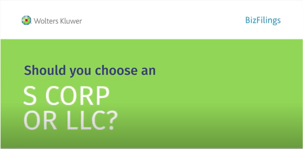 should you choose an S corp or llc