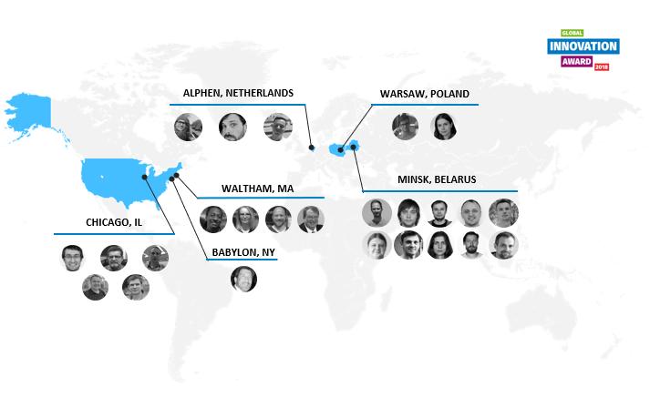 Map of team members TaskFlow