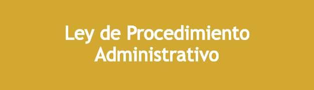 ley procedimiento administrativo asesorestv