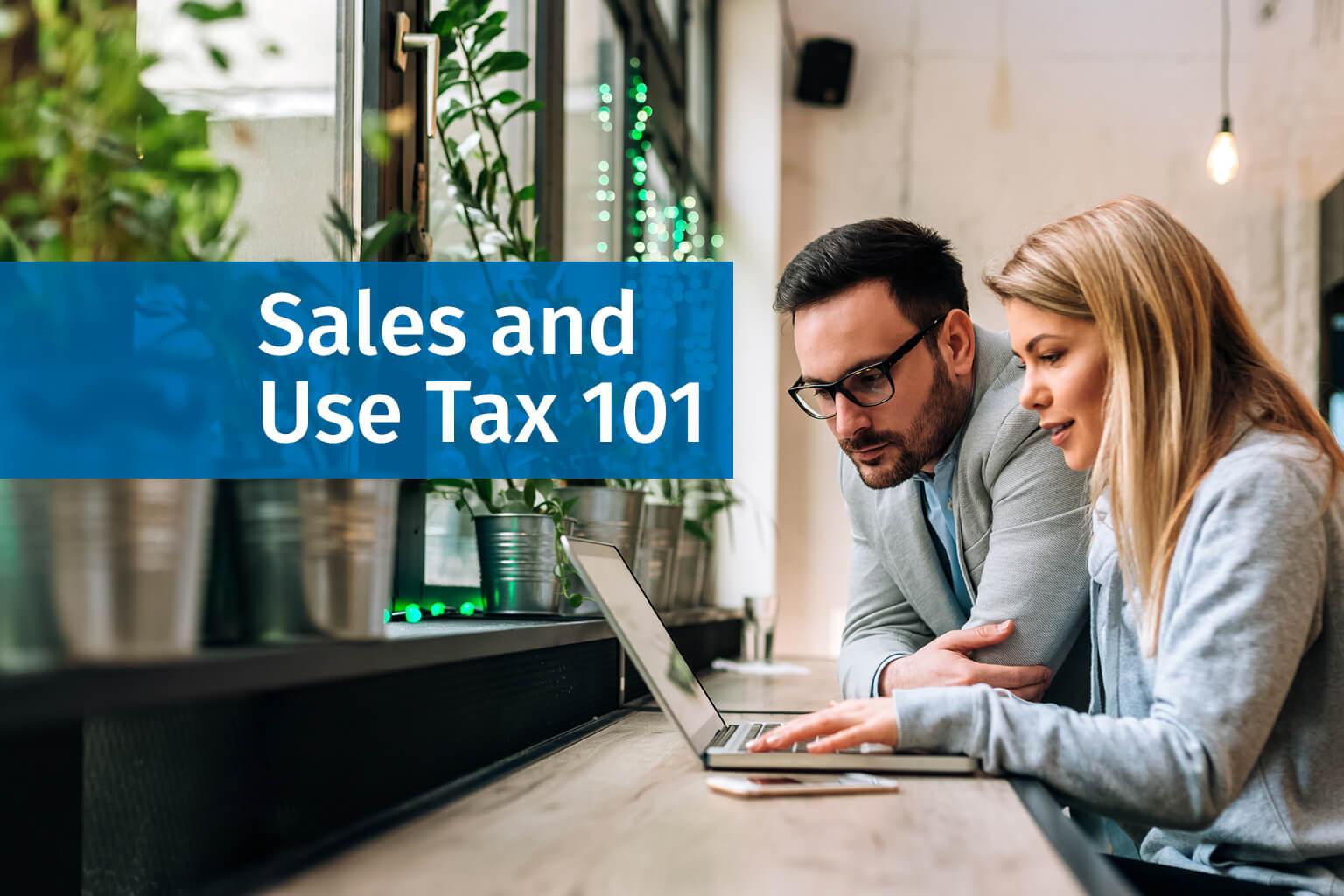 Sales Tax 101 Webinar.